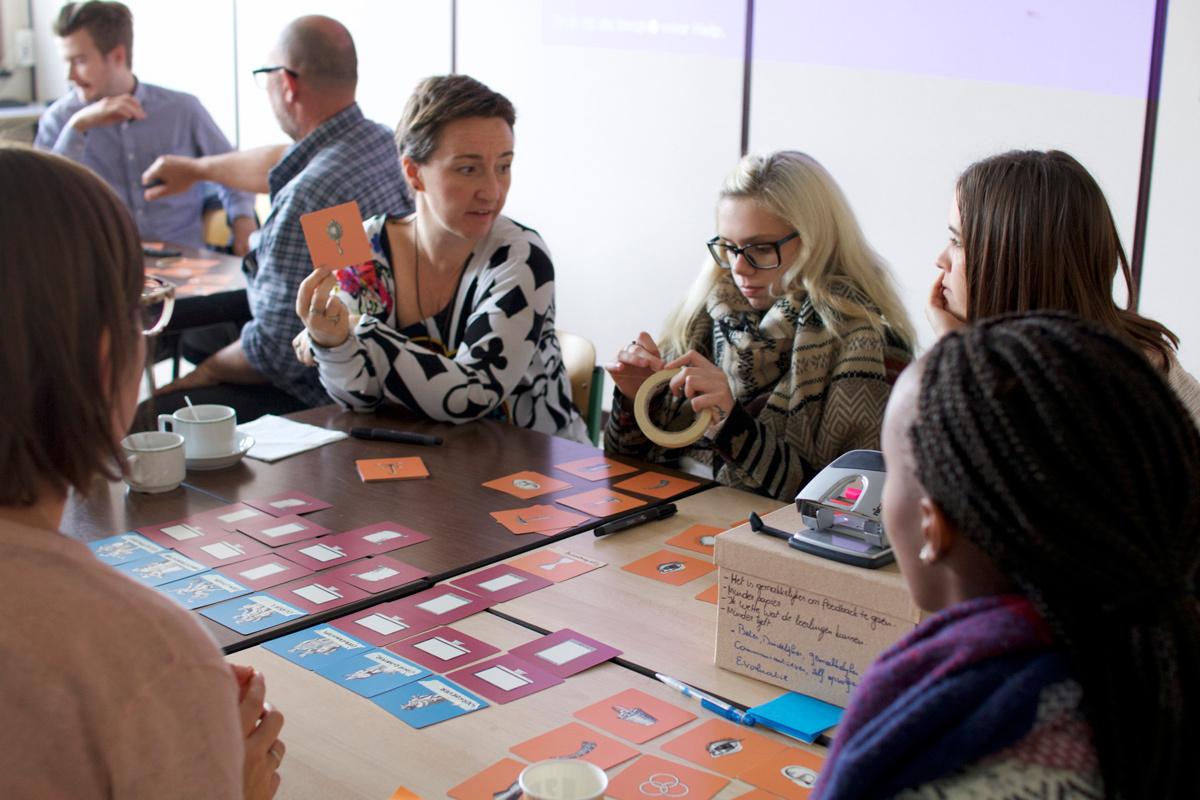 Co-creation workshop met leerlingen en leerkrachten