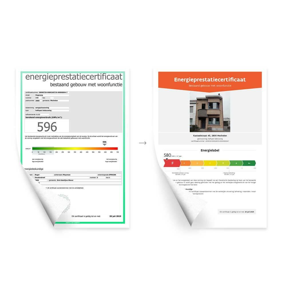 Old vs new document